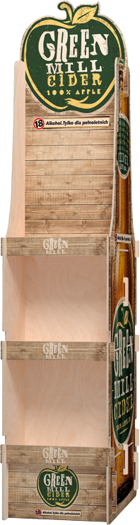 Sperrholz Display fur bier